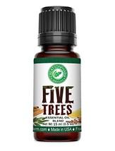 Creation Pharm Five Trees Aromatherapy Essential Oil Blend– Cinnamon, Frankincen