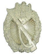WW2 German Infantry Assault Badge Silver grade rare screwback version - $167.00