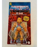 He-man Masters of Universe Origins Action figure toy Unpunched MOTU Retr... - $49.45