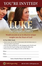 Luke: The Gospel of Mercy (Invitation/Pew Card) 50 Pack