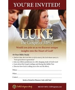 Luke: The Gospel of Mercy (Invitation/Pew Card) 50 Pack - $16.95