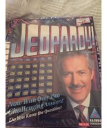 Jeopardy 1998 Hasbro Interactive PC game Windows 95/98 CD-ROM Over 3500 ... - $8.71