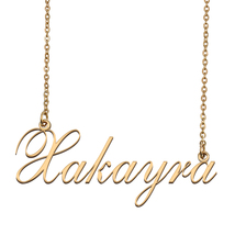 Xakayra Custom Name Necklace Personalized for Mother's Day Christmas Gift - $15.99+