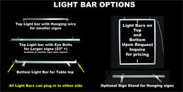 """Custom LED Sign, Multi-Color Changing 31.25"""" x 16"""", Design your own image 3"""