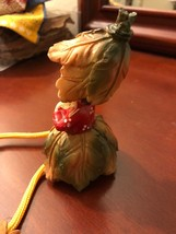 Autumn Couple Figurines, Boy and Girl, Hangs off ledges - $7.70