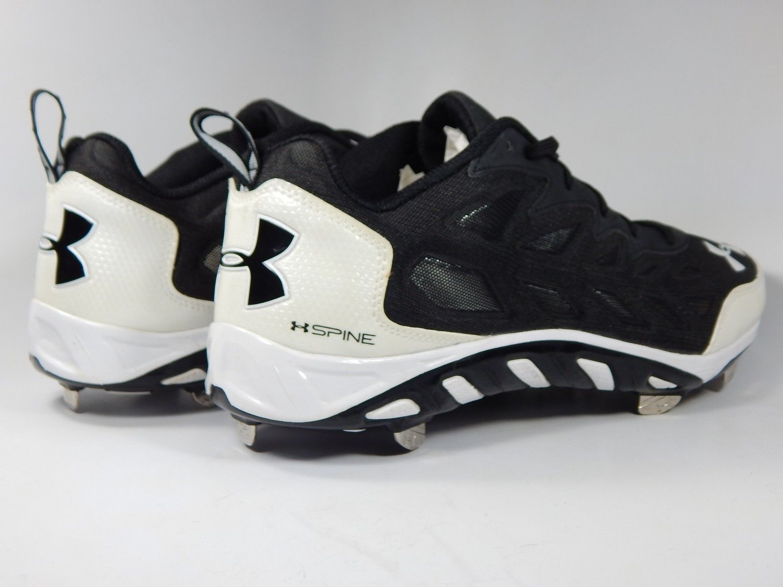 Under Armour Spine Low Top Size 9 M EU 42.5 Metal Baseball Cleats 1240624-011