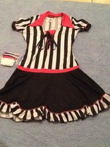 Racy Referee Sz Medium Juniors By In CharacterHalloween Costume Sexy Dre... - €23,21 EUR