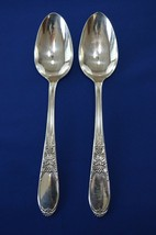2 Wm Rogers IS Burgundy Aka Champaigne 1934 Serving Spoons - $14.85