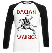 Dacian Warrior - New Black Sleeved Baseball Cotton Tshirt - $26.20