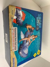 Bestway Hammerhead Shark Pool Lounge 7 Ft New Cup Holder Realistic 15419 - $28.04