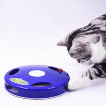 Tail Spin Rat, Electric Toy for Cat or Kitten, Interactive Battery Operated Toy image 3