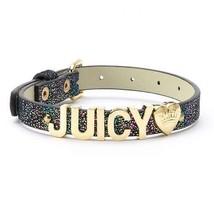 "Juicy Couture Logo Metallic Pet Collar - Limited Edition - ""Juicy"" Black - $15.16"