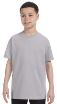 Jerzees Youth Heavyweight T-Shirt - 29B - Silver - $2.91