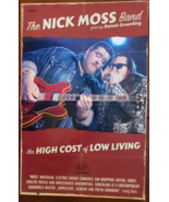 The Nick Moss Band featuring Dennis Gruenling 11 x 17 Folded Soft Poster - $8.95