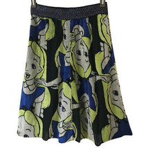 Achachumu Disney collaboration Alice in Wonderland velor skirt 36 Muchacha - $199.46