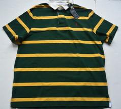 Polo Ralph Lauren The Iconic Camiseta Rugby XXL Rayas Verde Algodón Pony... - $55.10