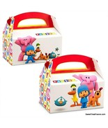 Pocoyo Party Boxes Favor 4PCS Supplies Birthday Decoration Treats Elepha... - $8.86