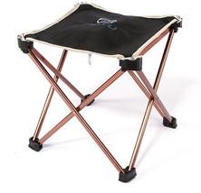 Aluminium Camping Hiking Foldable Chair Folding... - $16.50