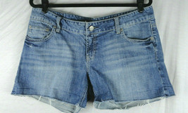 AE American Eagle Women's Cut Off Jean Shorts Size 14 EUC - $24.99