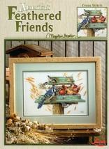 America's Feathered Friends Marjolein Bastin  Cross Stitch Leaflet 3313 NOS - $19.95