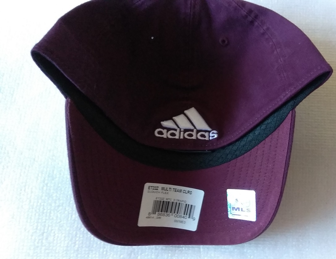 new style 9f421 06bb2 ... order adidas mls colorado rapids soccer hat cap curved visor size s m  6c2fa 37dd3
