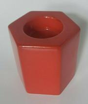 """Waechtersbach  3"""" Tea Light Candleholder Solid Red Germany U23 - $24.99"""