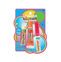 LIP SMACKER* 3pc Set TROPICAL Balm+Squeezy+Liquid Gloss SKITTLES New Sty... - $8.99