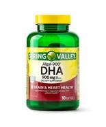 Spring Valley Algal-900 DHA Softgels, 900mg per serving, 90 Count..+ - $39.99
