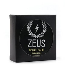 ZEUS Conditioning Beard Balm, Sandalwood, 2 Ounce image 3