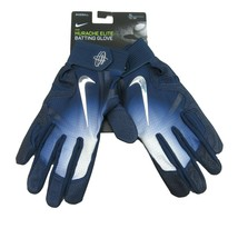 Nike Huarache Elite Baseball Batting Gloves Navy Blue Size XL NEW PGB543-426 - $39.59
