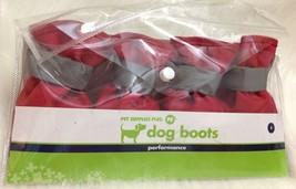 Dog Boots Pet Supply Plus Performance Rain Snow Salt protection Warm Sz S - $13.85
