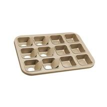HOMOW Non-Stick Bakeware Brownie Bar Baking Pan, Mini Cheesecake Pan Cup... - ₨1,390.99 INR