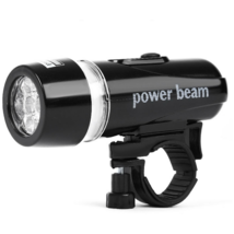 Bicycle Head Lamp 5 LED Multifunctional Warning Light Ultralight Stable ... - $9.99