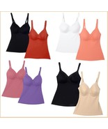 """Rhonda Shear """"Everyday"""" Molded Cup Camisole 2 pack - $18.99"""