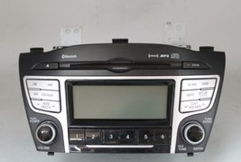 10 11 12 13 HYUNDAI TUCSON AM/FM RADIO CD PLAYER RECEIVER 96160-2S161TAP... - $89.09