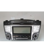 10 11 12 13 HYUNDAI TUCSON AM/FM RADIO CD PLAYER RECEIVER 96160-2S161TAP... - $89.09