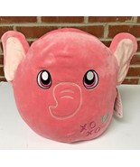 Squishmallows Ethan the Elephant 12 Inch Plush PInk Pillow - $24.99