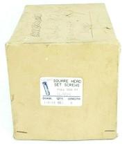 BOX OF 12 NEW GENERIC 16994 SQUARE HEAD SET SCREWS 6'' IN. 1/2-13 DIA. FULL DOG