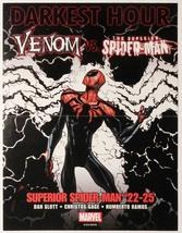 "Darkest Hour Venom Superior Spider-man Promo poster 10x13"" Humberto Ramos Art - $6.95"