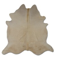 Brazilian Cowhide Real Fur Rug - Natural Solid Pure White - Large XL 8' ... - $465.00