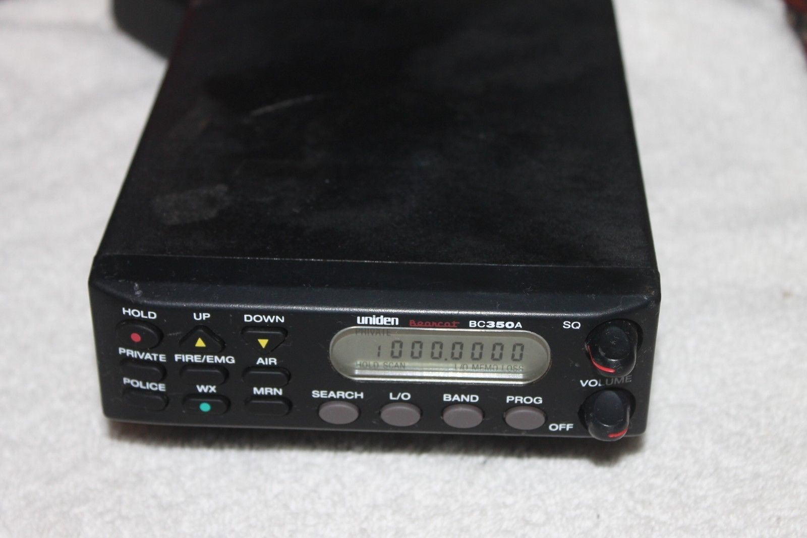 Uniden Bearcat BC350A Scanner By With Ac and 50 similar items