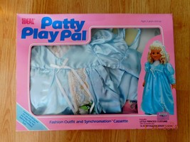 "1987 IDEAL TALKING 24"" PATTY PLAYPAL LIL PRINCESS COSTUME Fairytale Cass... - $29.21"