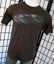 Hang Ten men's blue waves on a brown tee shirt large l - $19.95