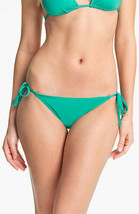 BECCA® by Rebecca Green Color Code Side Tie Bikini Bottoms L Large NWT - $18.17