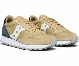 Saucony Jazz Original Men's Shoe Tan/Navy, Size 8 M - £37.67 GBP