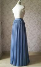 WHITE Long Tulle skirt White Wedding Tulle Skirt Plus Size White Tulle Skirt image 7