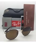 Nuevo Gafas de Sol Ray-Ban RB 3475-Q 9041 50-21 Cuero Marrón Marcos W/ L... - $209.77