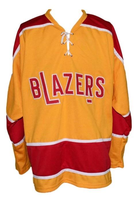 Parent  00 philadelphia blazers retro hockey jersey orange   1