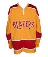 Custom Name # Philadelphia Blazers Retro Hockey Jersey Orange Parent 00 ... - $54.99+