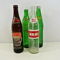 Bubble Up Fresca Nehi Mug Root Beer 16 Oz Bottles Glass VTG Soda Pop Cola - $38.52